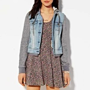American Eagle Outfitters Jackets & Coats - American Eagle Women's Hooded Demin Jacket